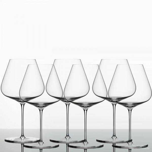 Denk'Art - ZALTO Glas - Burgunder - 6er Pack - versandkostenfrei