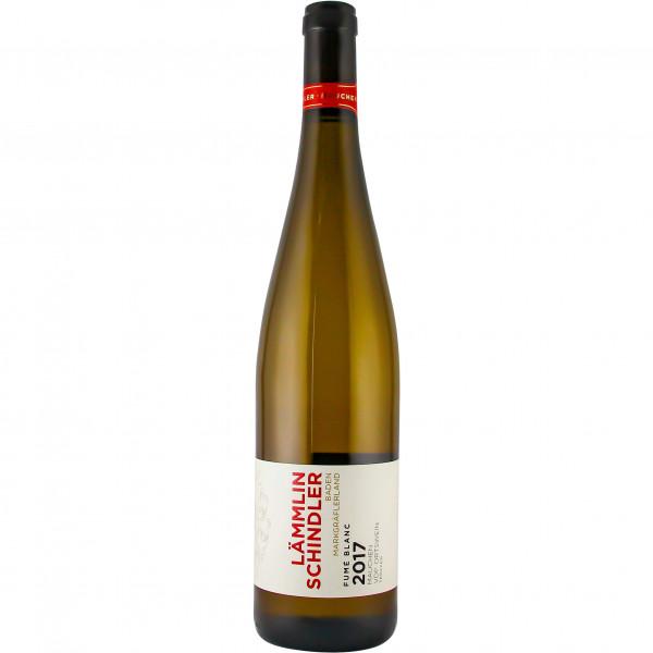 Fumé Blanc (Sauvignon Blanc) trocken 2017 im Holzfass gereift VDP. ORTSWEIN - Lämmlin-Schindler