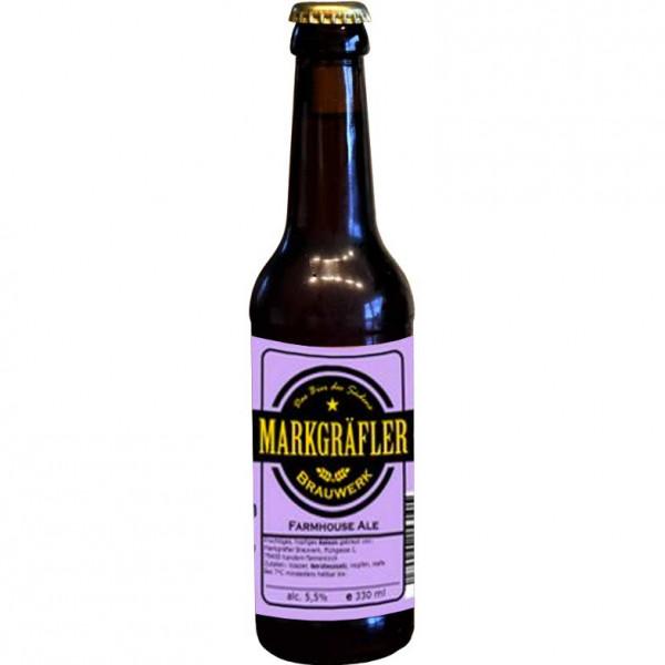 Farmhouse Ale - Saison 0,33 L - Markgräfler Brauwerk