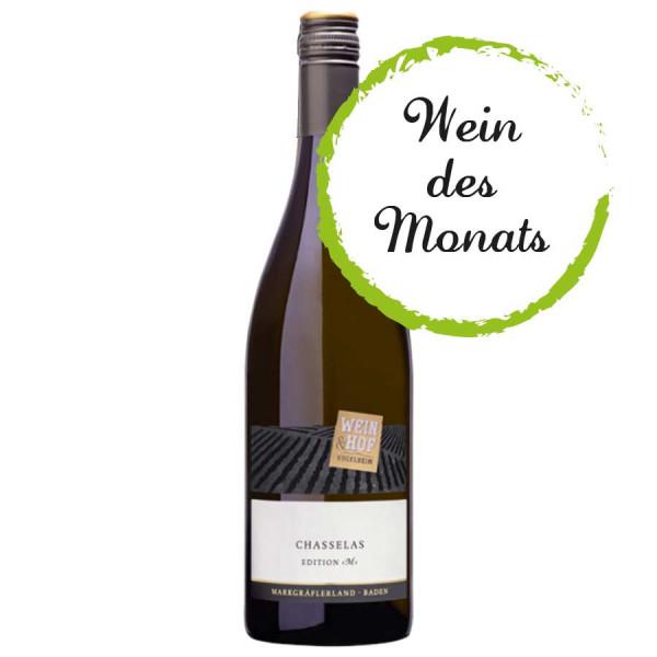Chasselas EDITION »M« QbA 2020 trocken - Wein & Hof Hügelheim - 2. Platz Gutedelcup 2021