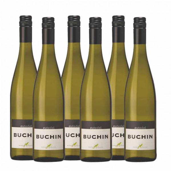 Büchin Gutedel trocken 2018 Qba - Weingut Büchin