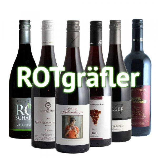 """ROTgräfler"" - 6er Weinabo"