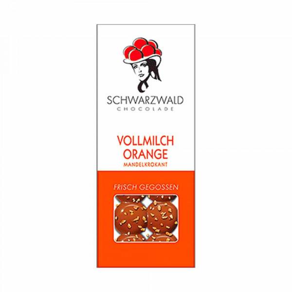 """""""CHOC au Vino"""" Pairing - Vollmilch Orange Mandelkrokant - Schwarzwald Chocolate"""