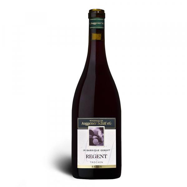Regent Rotwein, Qualitätswein trocken 2017, Barrique - Winzerkeller Auggener Schäf