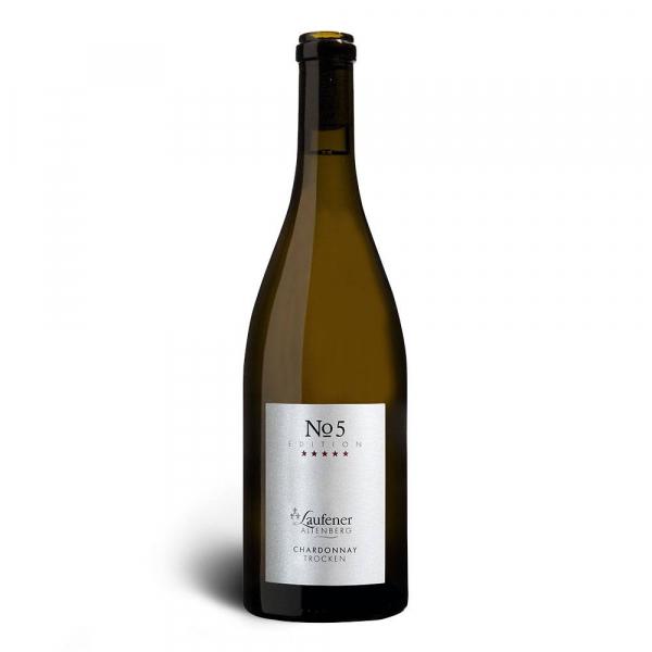 EDITION »No. 5« Chardonnay 2019, Qualitätswein, trocken - Laufener Altenberg