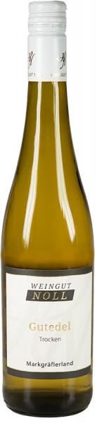 Gutedel trocken 2019 Qualitätswein Badisches Gold - Weingut Noll