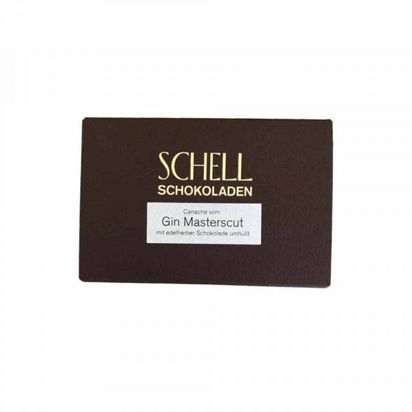 Schokoladentafel - Gin Mastercut - Schell