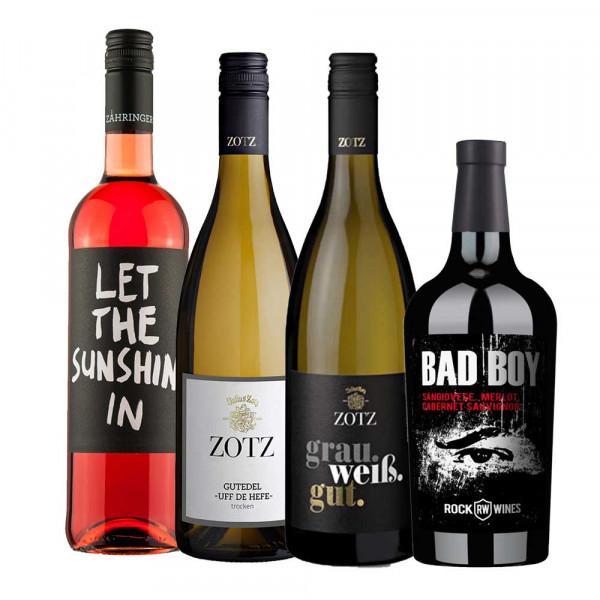 Firmen Online Weinproben Paket 2020/21 - 4er Weinpaket