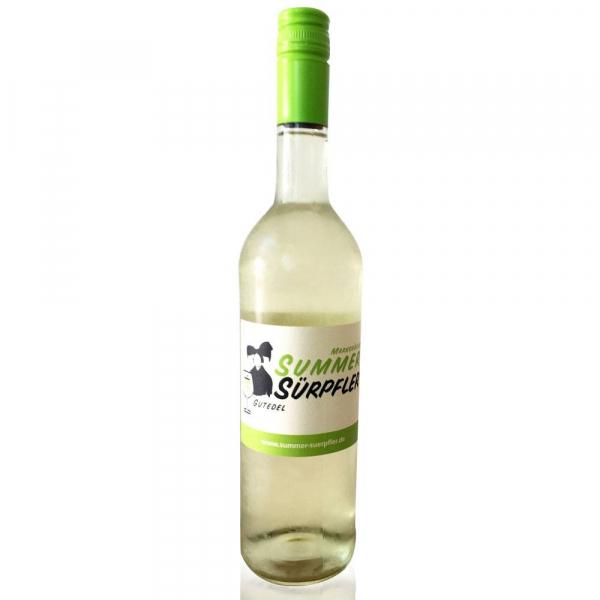 SummerSürpfler - Gutedel 2017, Badischer Landwein - Weinbau Kallmann