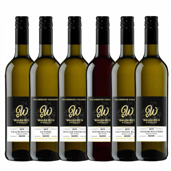 Weingut Waldkirch Gutsweinpaket 6 x 0,75 L
