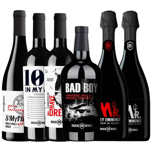 Full Rockin' Rock Wines Collection - Wein Probierpaket