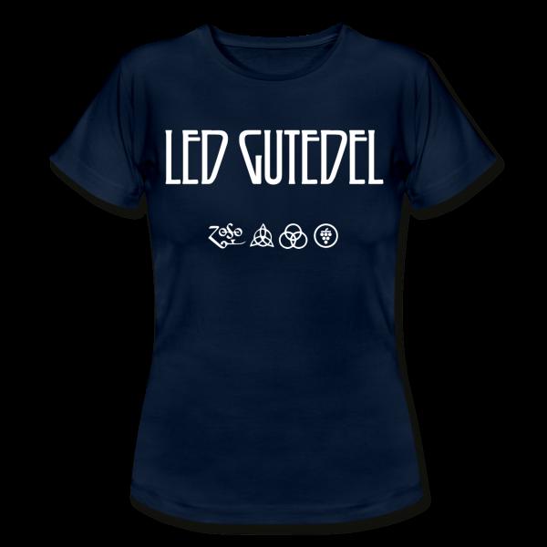 """LED GUTEDEL """"Girlie Shirt"""" in S -XL - WINE MERCH Markgräfler Weintheke.de"""