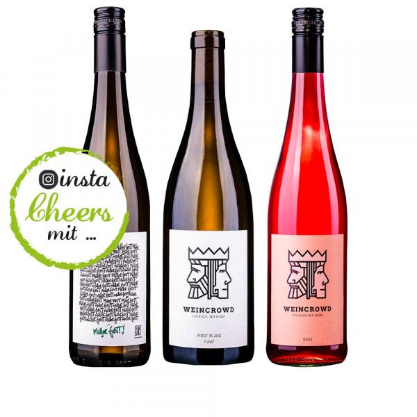 instaCHEERS Weinpaket 3 x 0,75 L - WEINCROWD