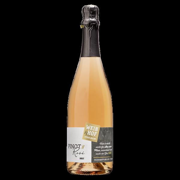 Pinot Rosé Sekt trocken -Hofsekt- - Wein & Hof Hügelheim