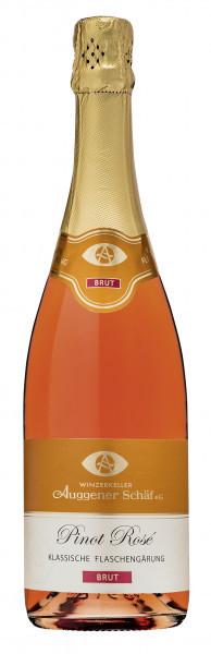 Pinot Rosé Sekt Brut – Flaschengärung 0,75 L - Winzerkeller Auggener Schäf