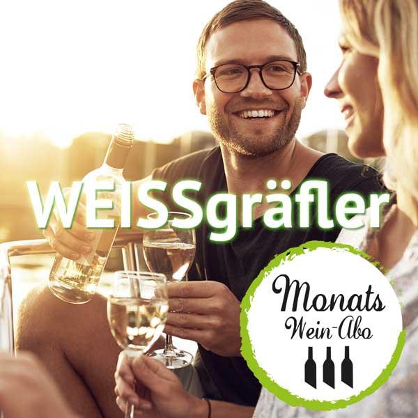 """MONTAS Weinabo """"WEISSgräfler"""" - Weißwein Abo"""
