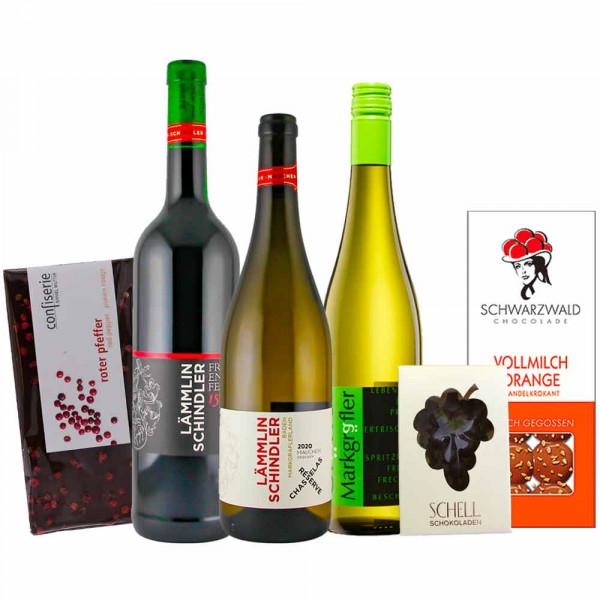 """Firmen Online Weinprobe """"Schokolade & Wein im Pairing"""""""