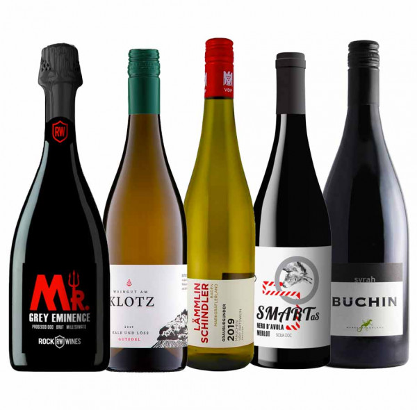 """Weinpaket """"Pizza & Wein ... das wird fein!"""" zur Online Weinprobe - On Demand"""