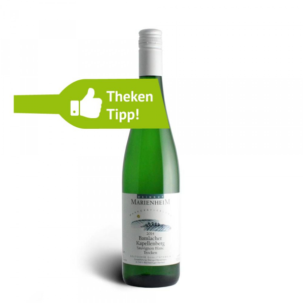 Sauvignon Blanc trocken 2014 QbA - Weingut Marienheim
