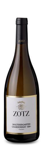 Chardonnay 500 Heitersheimer Maltesergarten trocken 2017 - Weingut Julius ZOTZ