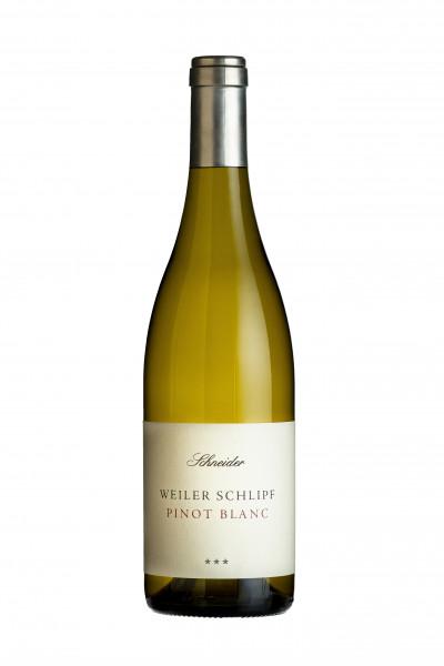 Pinot Blanc trocken 2016 Weiler Schlipf *** - Weingut Schneider (Baden)