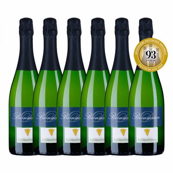 Siegerpaket 6x Chardonnay Zero Dossage - Meiningers Deutscher Sektpreis 2021 - Weingut Brenneisen