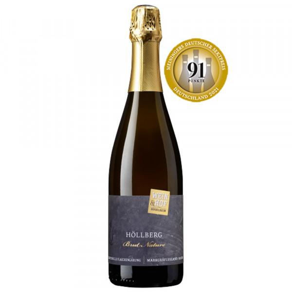 Hügelheimer Höllberg Brut Nature - Wein&Hof Hügelheim - 91P. Meiningers Deutscher Sektpreis 2021