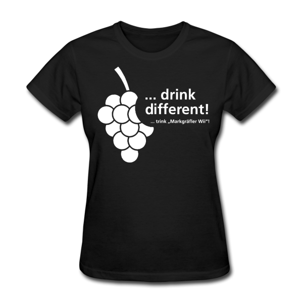 "DRINK DIFFERENT ""Girlie-Shirt"" - Markgräfler Wine Merch"