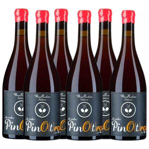 """Pino(t)range - Premium Grauburgunder """"Orange"""" 2019 tr. 6er Weinpaket VERSANDKOSTENFREI"""