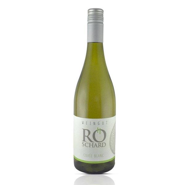 2018er Cuvée Blanc trocken - Weingut Röschard - im großen Holzfass gereift