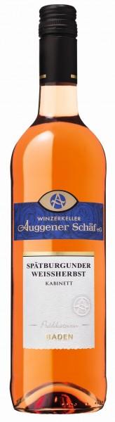 Weißherbst, Kabinett 2019 - Winzerkeller Auggener Schäf