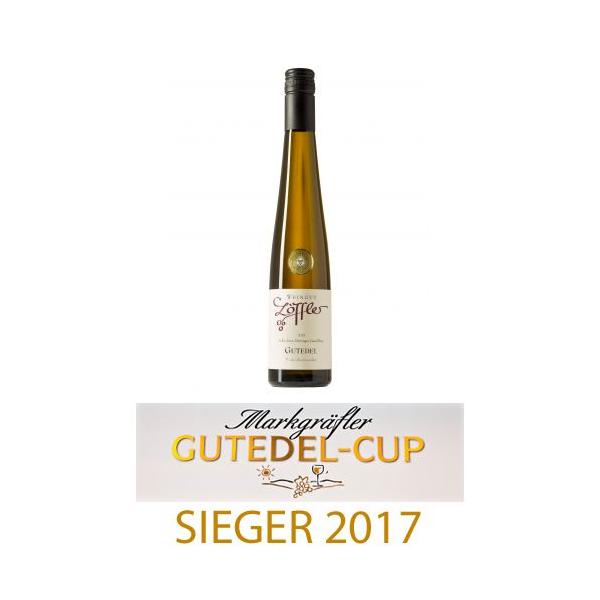 2015er GUTEDEL Trockenbeerenauslese süß, Goldmedaille - Weingut Löffler