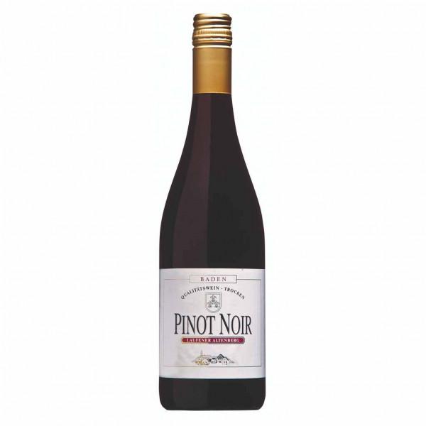 Pinot Noir Rotwein 2016, Qualitätswein, trocken - Laufener Altenberg