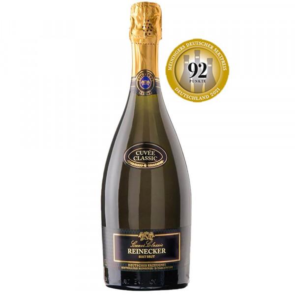 Cuvée Classic Réserve Brut - Privat-Sektkellerei Reinecker - 92P. Meiningers Deutscher Sektpreis 202