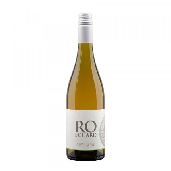 2016er Cuvée Blanc trocken - Weingut Röschard (50% Grauburgunder/Chardonnay) im gr. Holzfass gereift