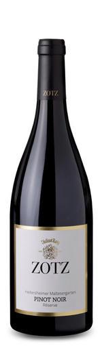Maltesergarten Pinot Noir Réserve trocken 2017 - Weingut Julius Zotz
