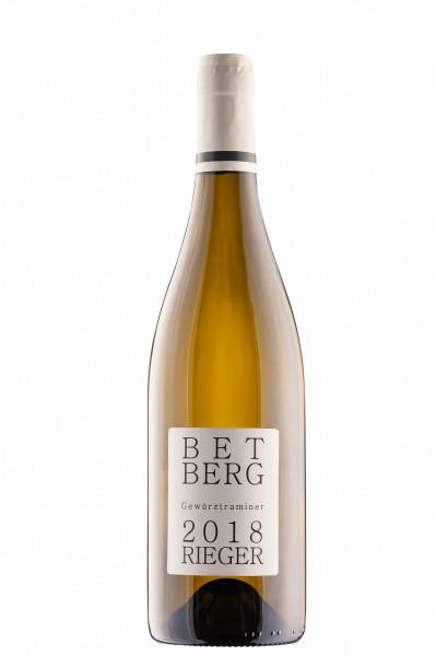 Gewürztraminer BETBERG 2019 trocken - Weingut Rieger - Biowein
