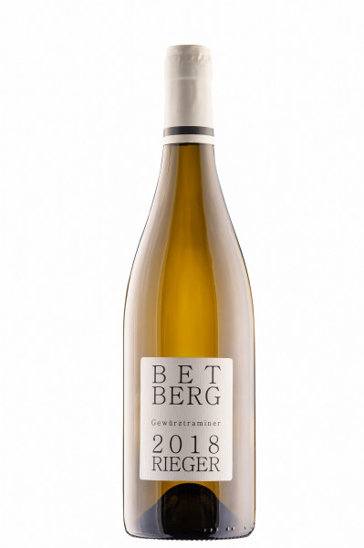 Gewürztraminer BETBERG 2018 trocken - Weingut Rieger