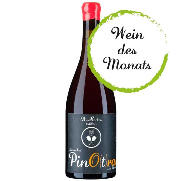 """Pino(t)range - Premium Grauburgunder """"Orange"""" 2019 trocken – WEINdesMONATS 09/21 – WineRockers.de"""