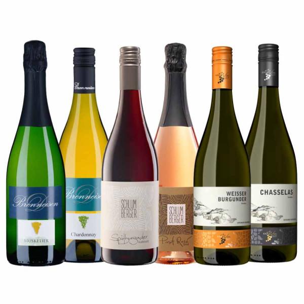 """Weinpaket """"WEINschwimmer"""" Fisch & Wein inkl. Online Weinprobe (on demand)"""