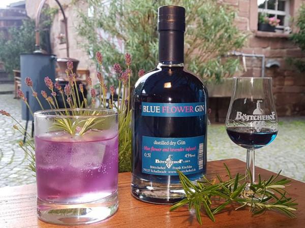 Blue Flower Gin - Böttchehof