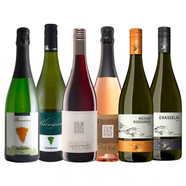 """Weinpaket """"WEINschwimmer"""" Fisch & Wein Online Weinprobe - Fr. 19.03.2021 - 19 Uhr"""