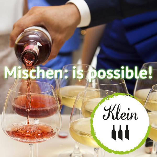 """12+1 Weinabo """"Mischen: is possible""""- Kleines Wein-Jahresabo - 13. Lieferung gratis!"""