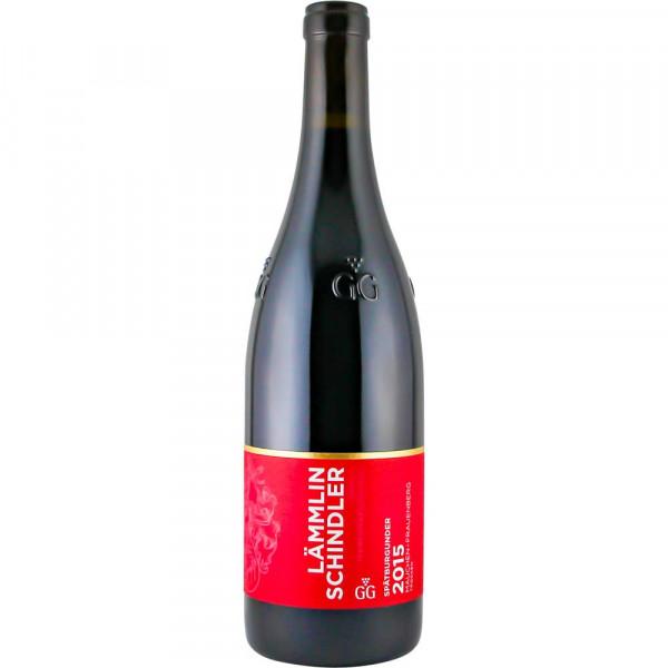 Spätburgunder Rotwein GROSSES GEWÄCHS 2015 - trocken - MAUCHENER FRAUENBERG - Weingut Lämmlin-Schind